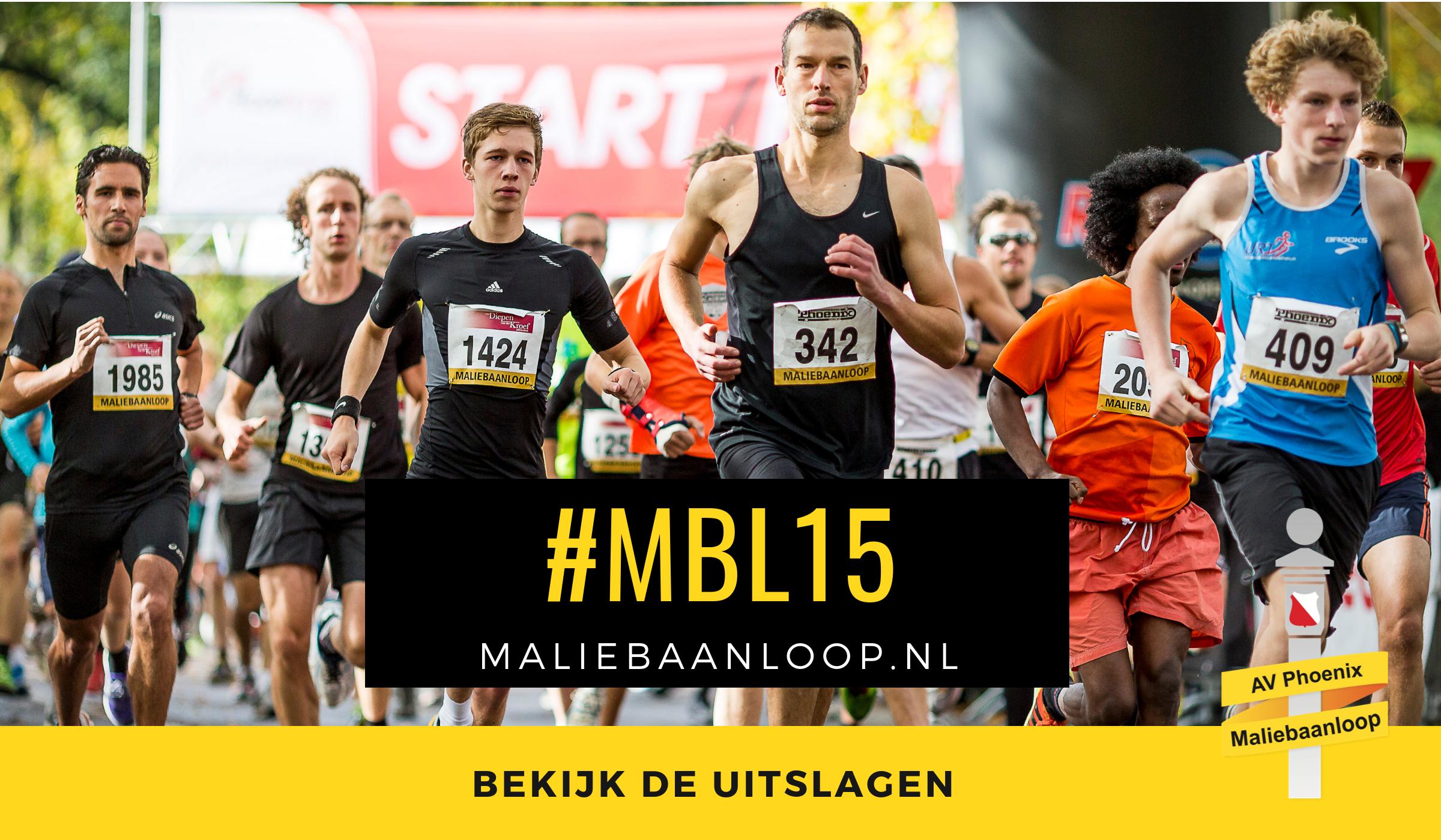 Uitslagen 31e Accountor Maliebaanloop 2015