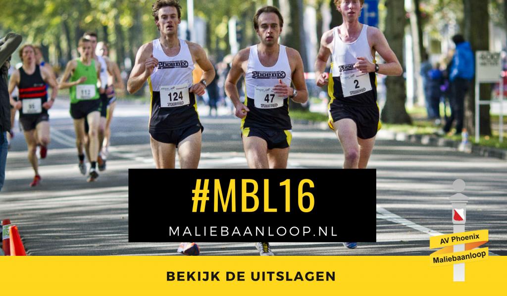 Uitslagen 32e Accountor Maliebaanloop 2016