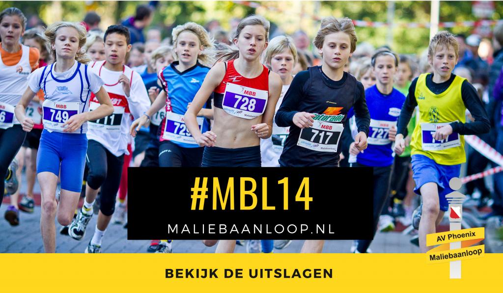 Uitslagen 30ste Maliebaanloop 2014