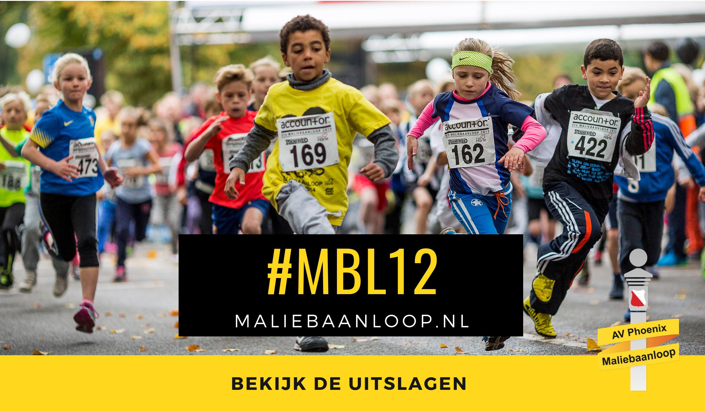 Uitslagen 28ste Maliebaanloop 2012