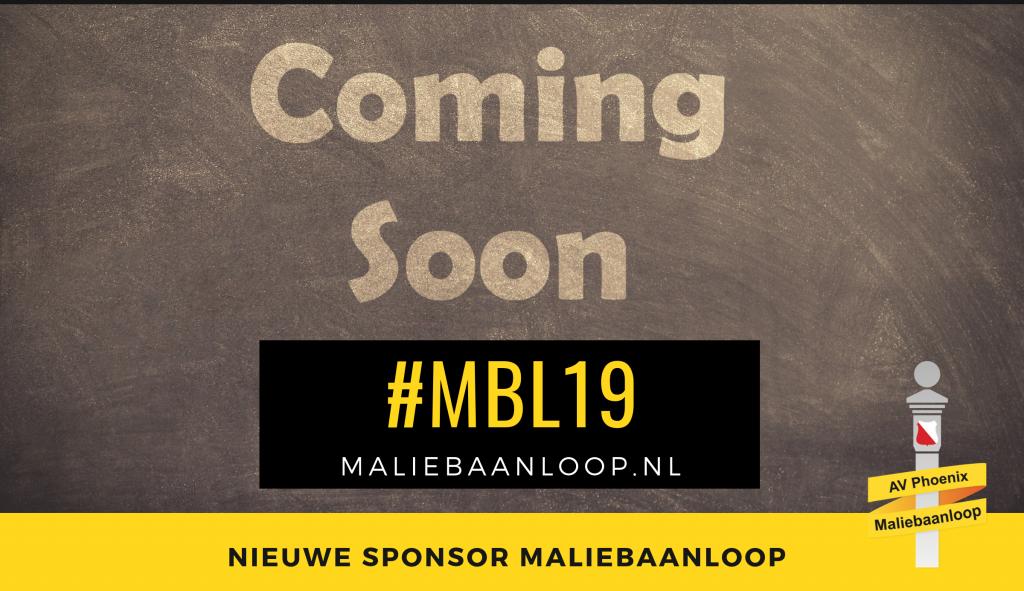 coming soon - nieuwe sponsor maliebaanloop