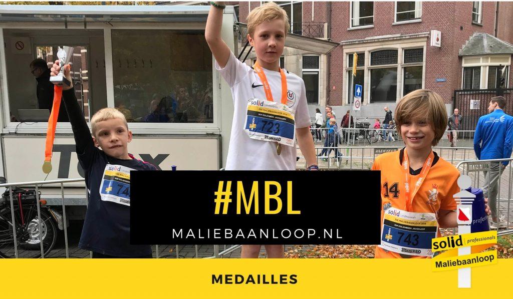 medaille maliebaanloop 2019