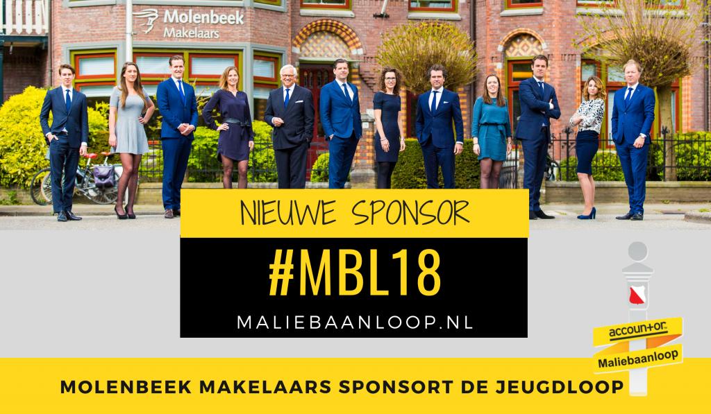 molenbeek makelaars sponsor jeugdloop